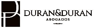 Duran y Duran Abogados Logotipo NEGRO